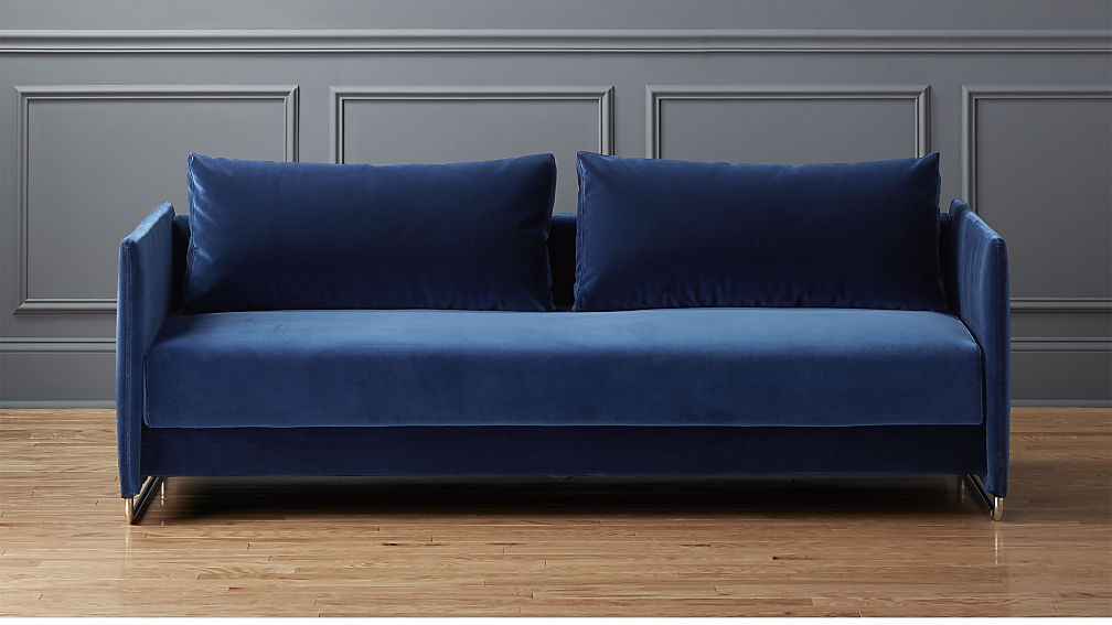 Have You Seen the CB2 Fall Catalogue Its the Best It  : cb2 fall 2016 tandem sofa in navy from itsmekaitlin.com size 1008 x 567 jpeg 62kB